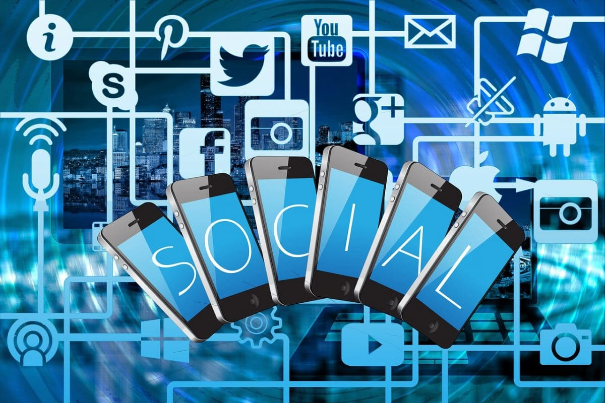 redes sociales smartphones datos android