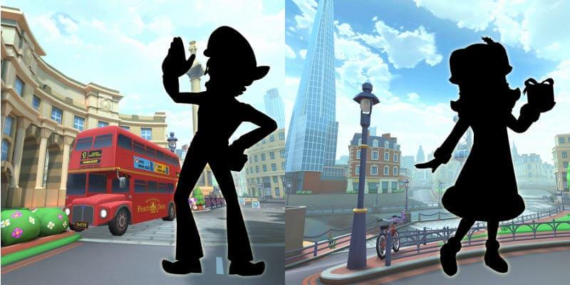 Personajes 6 Mario Kart Tour
