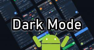 como tener darl mode en Android
