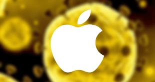 Coronavirus-Apple-produccion