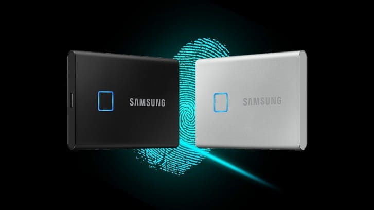 Samsung-T7-Touch-SSD-portable-sensor-huellas