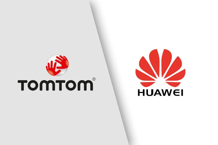 huawei tomtom maps services
