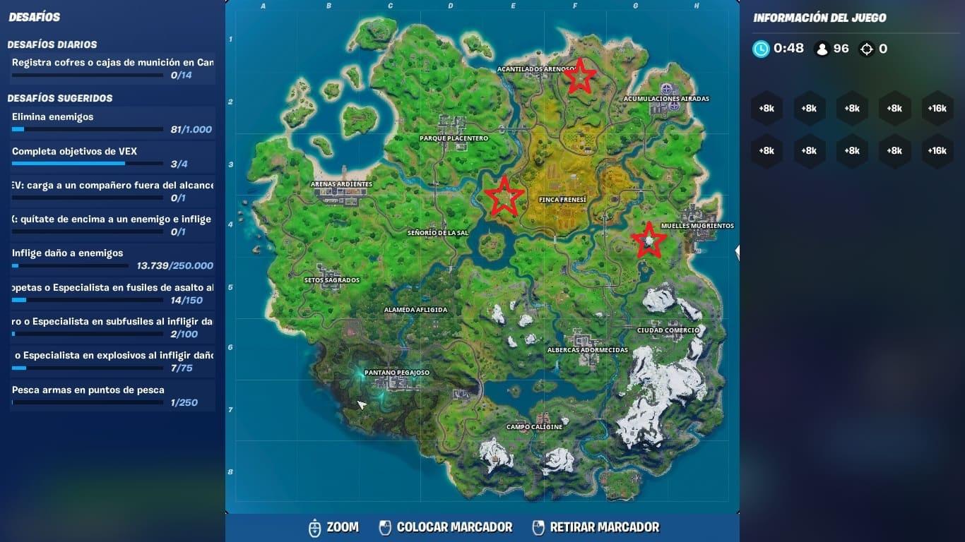 Lugares Fortnite