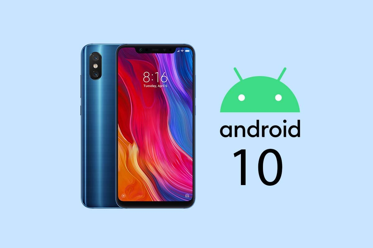 xiaomi mi 8 android 10 miui 11