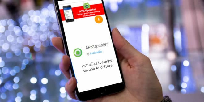 Apkupdater app para android