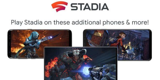 Google Stadia ya es compatible con smartphones Samsung, Asus y Razer