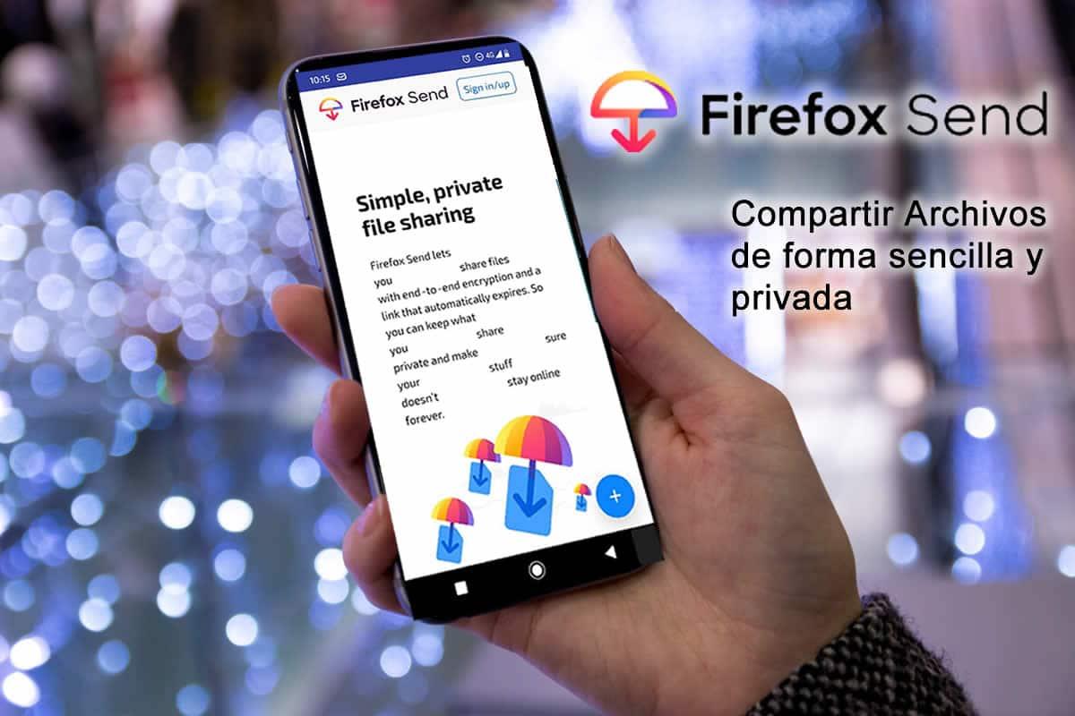 firefox send app