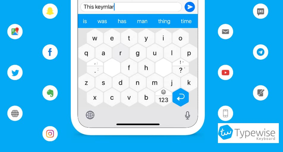 teclado Typewise android