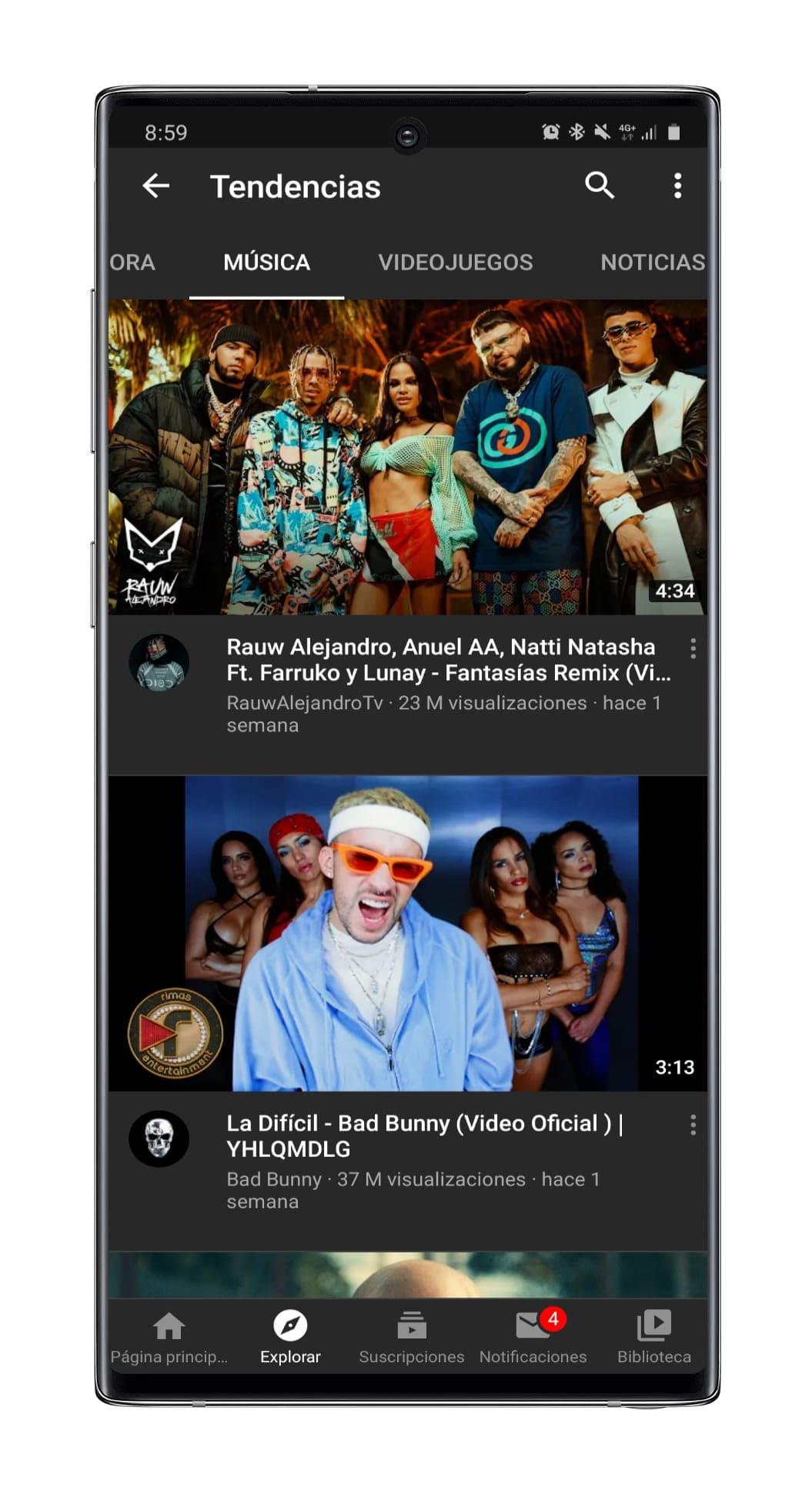 YouTube-contenido-Explora