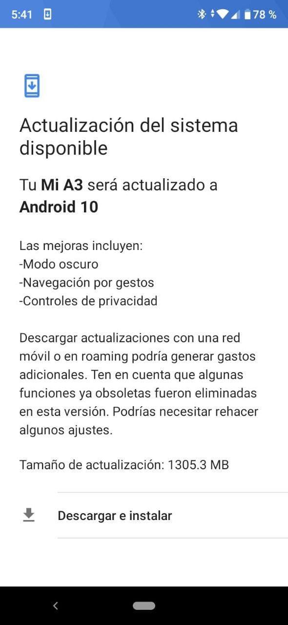 actualizacion-xiaomi-mi-3-android-10-oficial