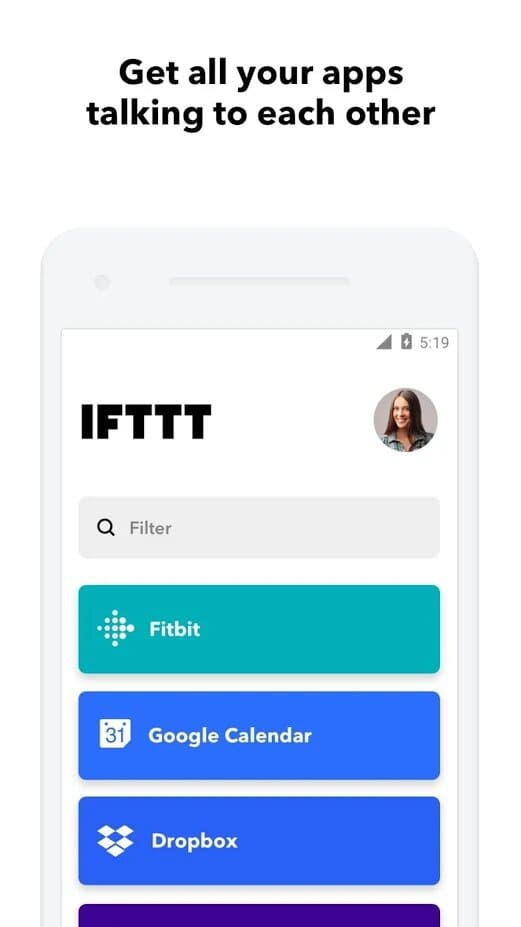 control-domotica-IFTTT