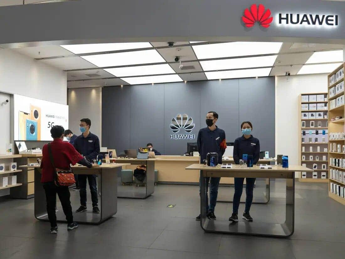 tienda-Huawei-China-Coronavirus