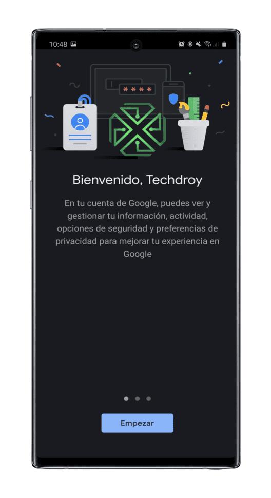 bienvenida-gestion-cuenta-Google