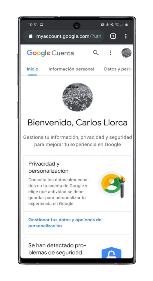 gestiona-cuenta-Googlegestiona-cuenta-Google-navegador-navegador
