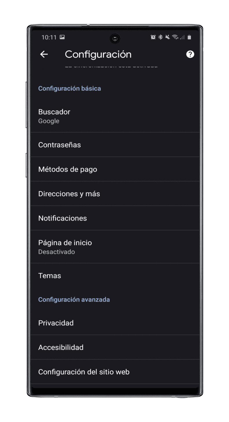 menu-configuracion-chrome