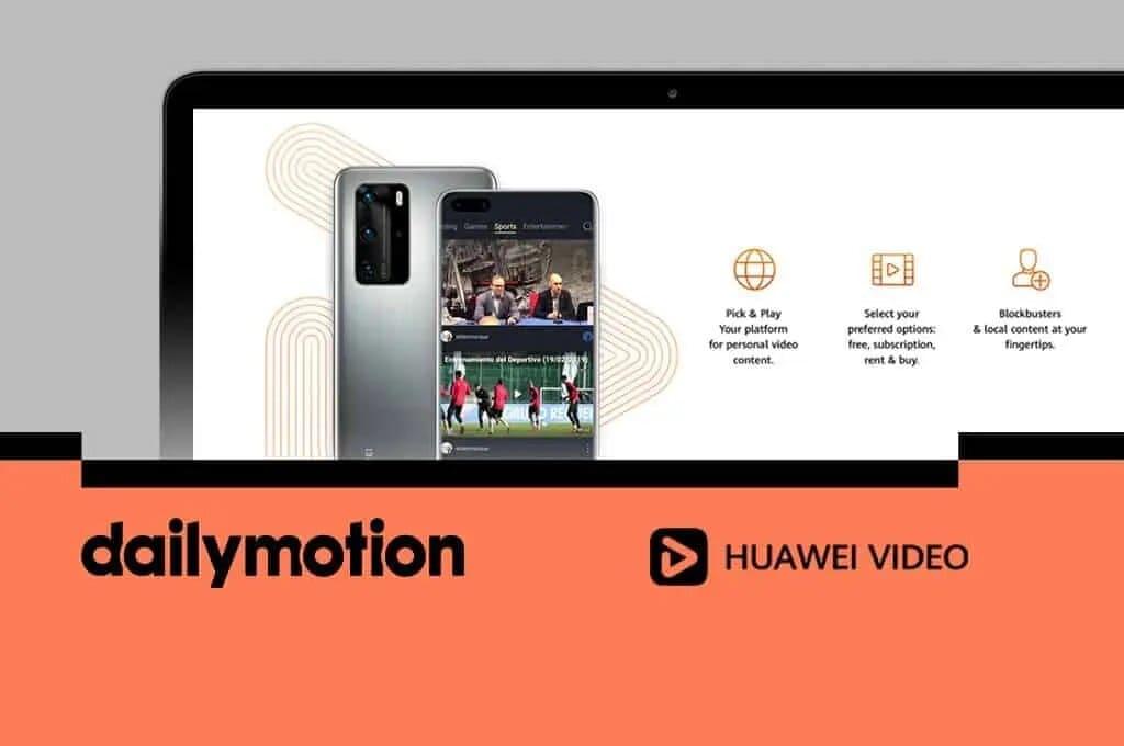 Dailymotion-alianza-Huawei-video