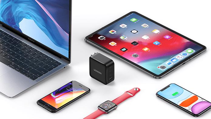 UGREEN-cargador-tecnologia-GaN-Apple