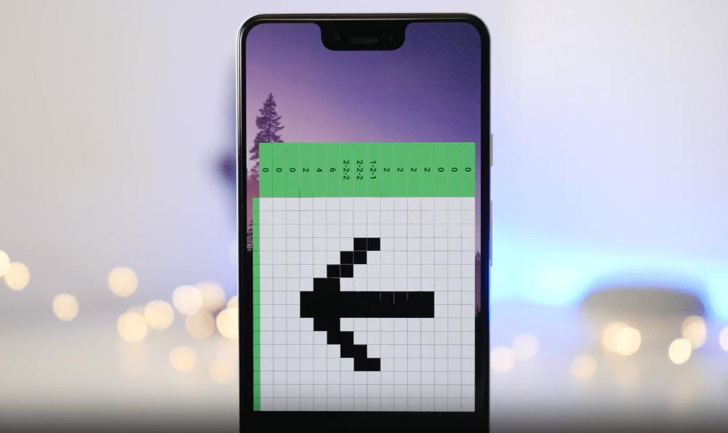 android 10 nonograma