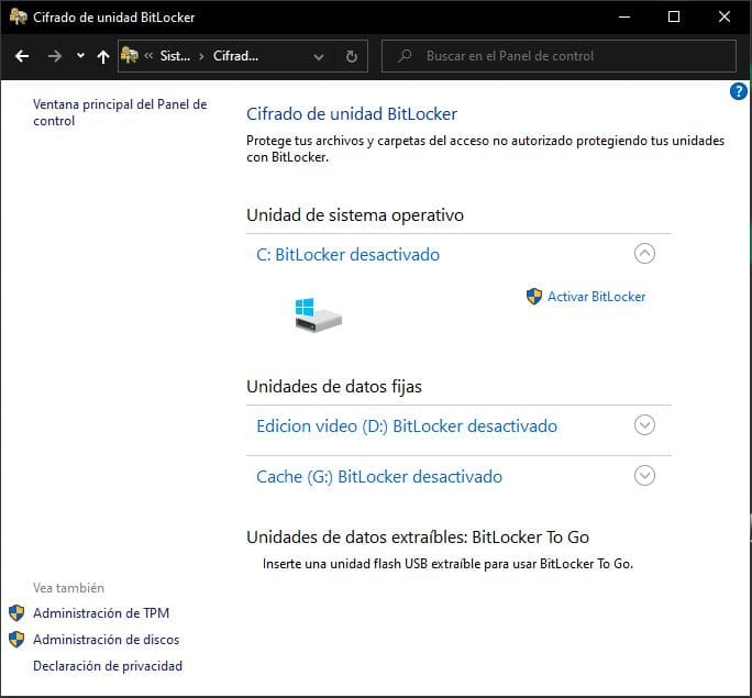 como-activar-BitLocker-Windows-10