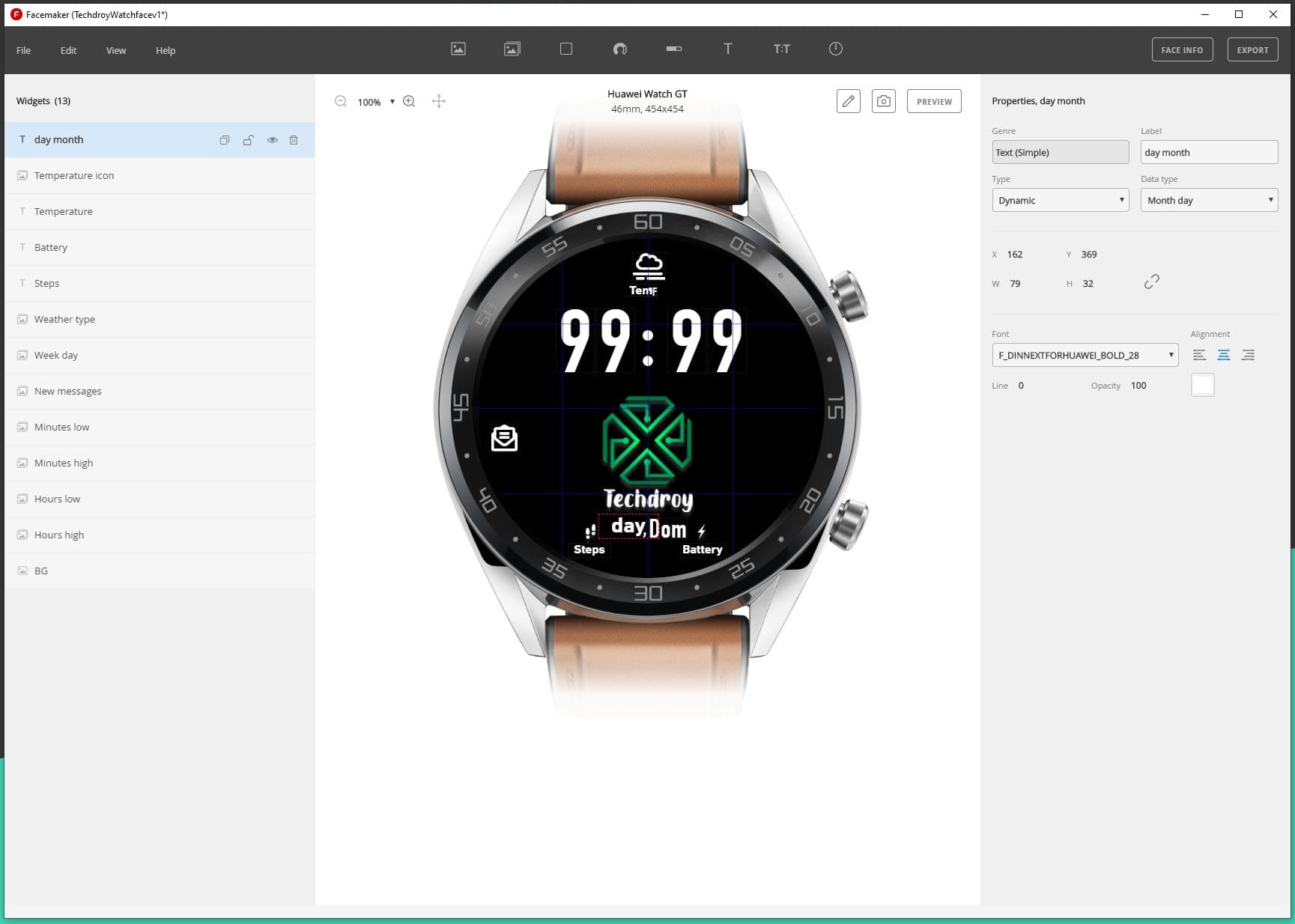 herramienta-Watch-FaceMaker-esferas-Huawei