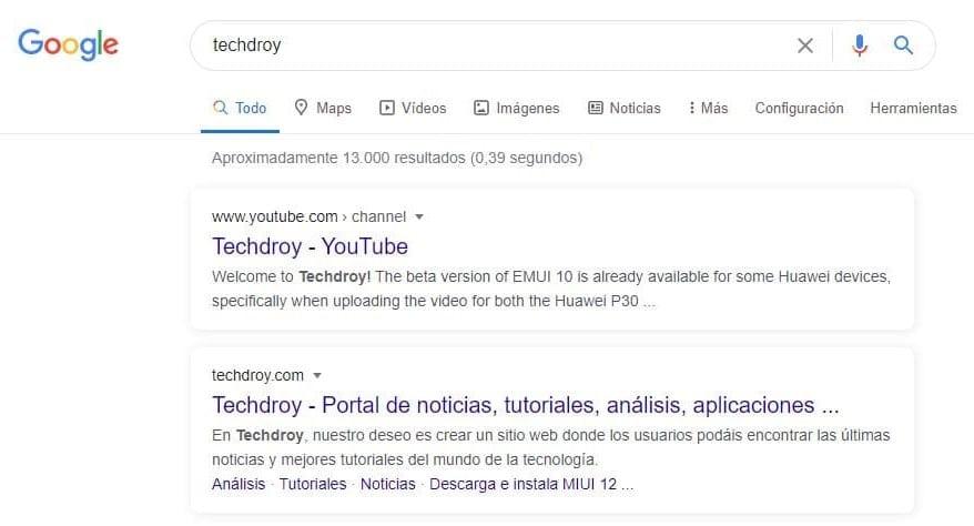 nuevo diseño buscador Google Techdroy portada