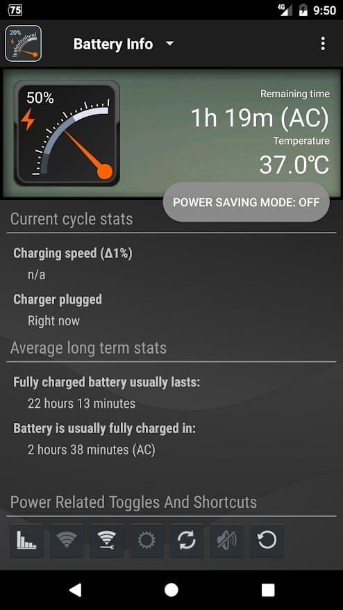 opciones-Gauge-Battery-Widget