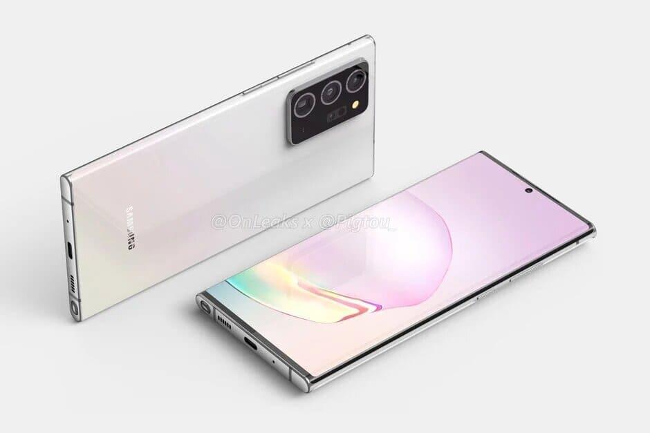 Samsung Galaxy Note 20 CAD Renders 1
