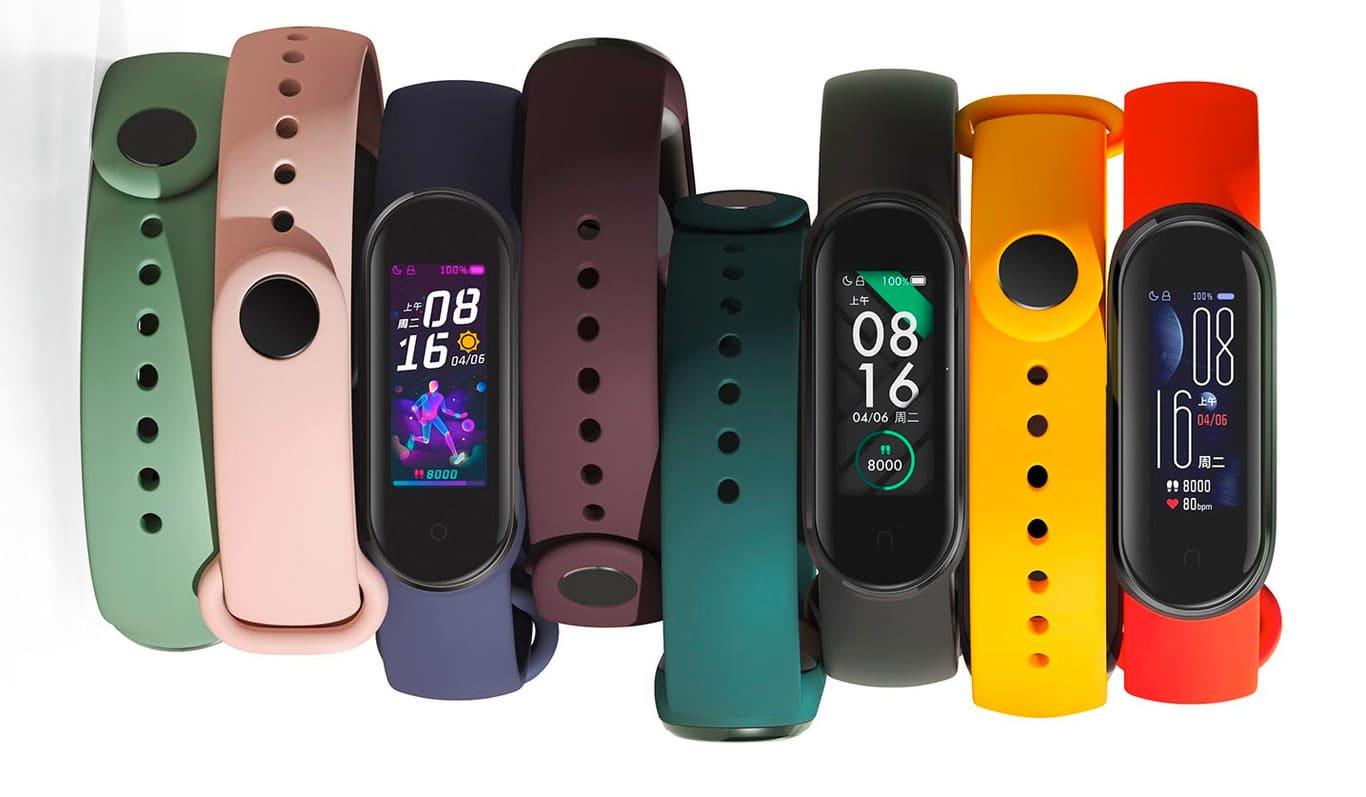 colores-pulseras-Mi-Band-5