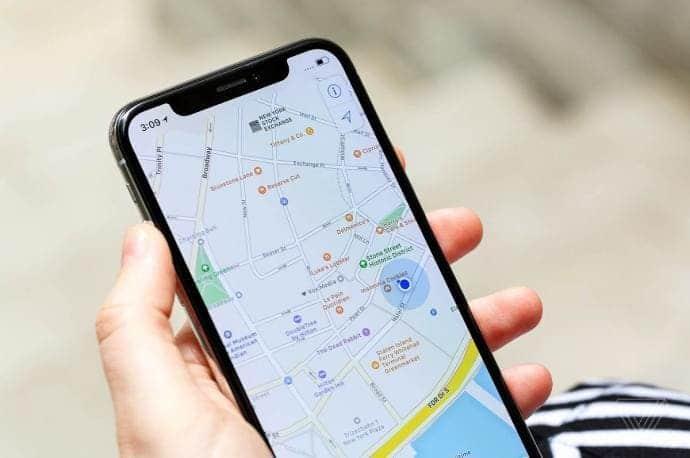 google-maps-aplicacion-ios