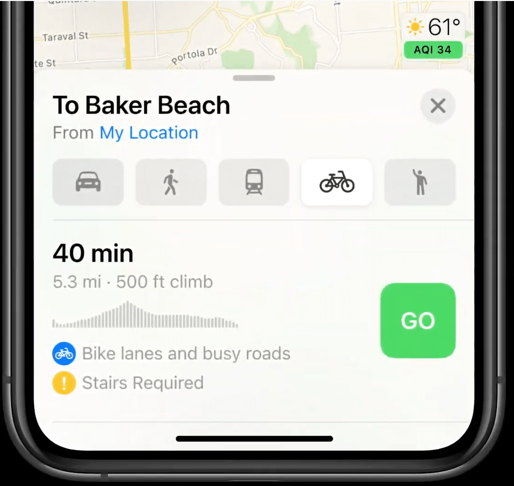 ruta-bicicleta-ios-14-apple-maps