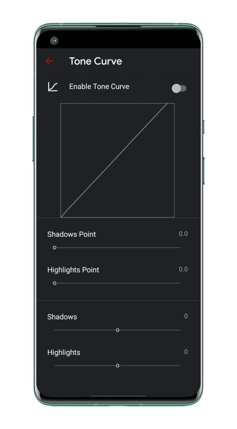 tone-curve-Gcam-Ultra-CVM-Mod