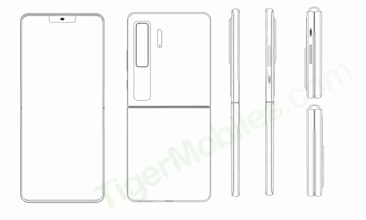 Huawei-dibujo-patente-dispositivo-plegable-tipo-concha