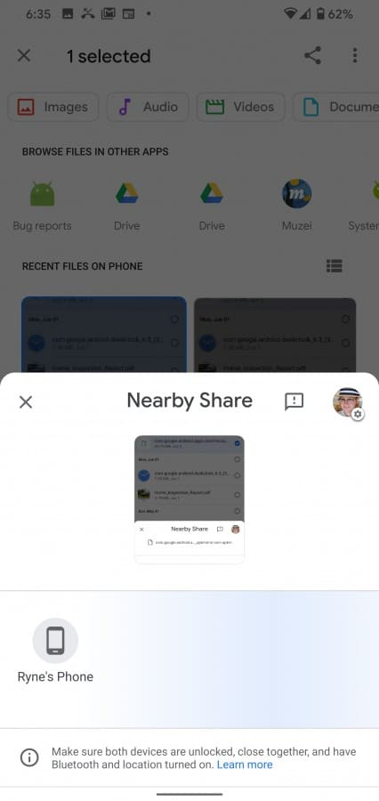 Nearby-Share-compartir-archivos-test