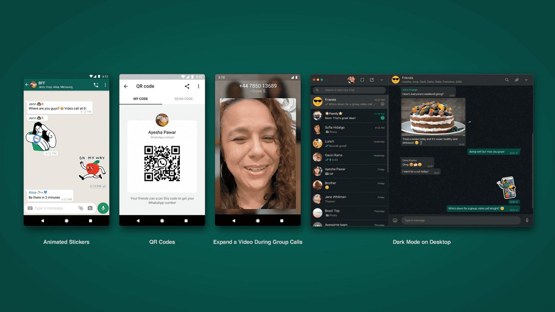 actualizacion-WhatsApp-stickers-animados-qr-perfiles-modo-oscuro-web