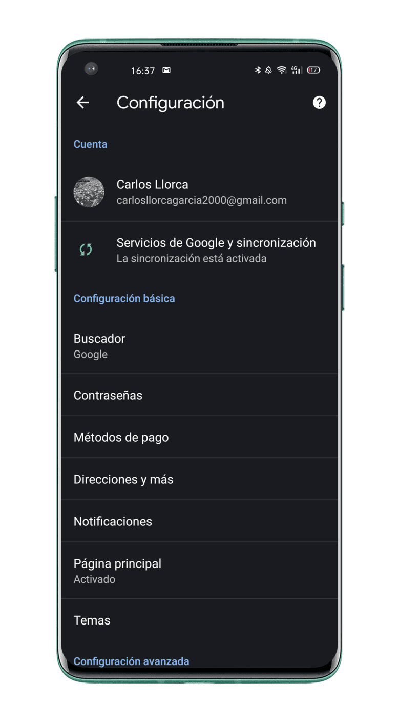 configuracion-Google-Chrome