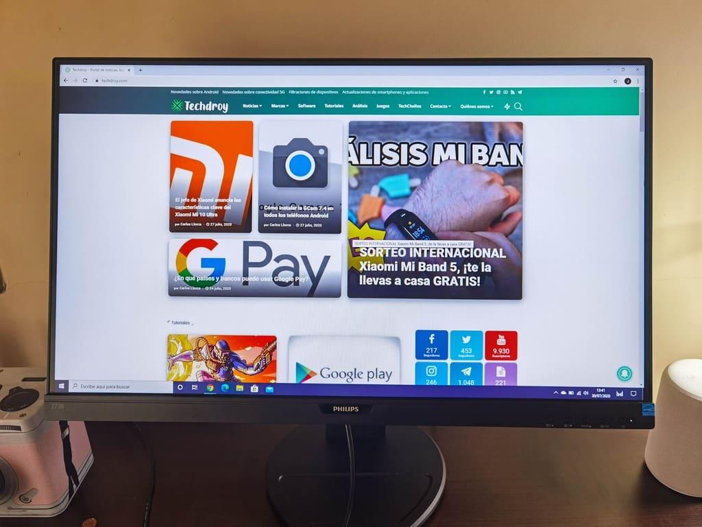 pantalla-monitor-Philips -273B9