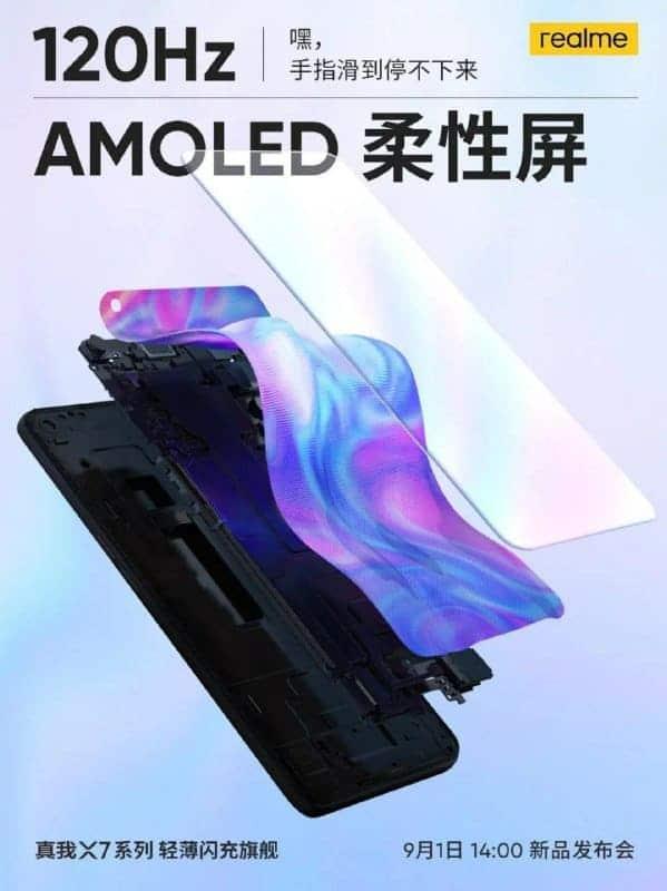 AMOLED-flexible-realme-X7-pro