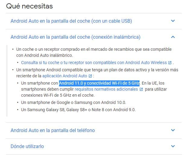 Android-Auto-compatibilidad-conexion-inalambrica-Android-11