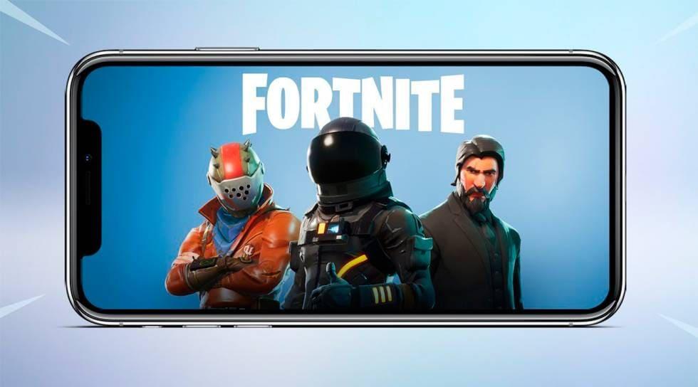 Fortnite-smartphone-Apple-iOS