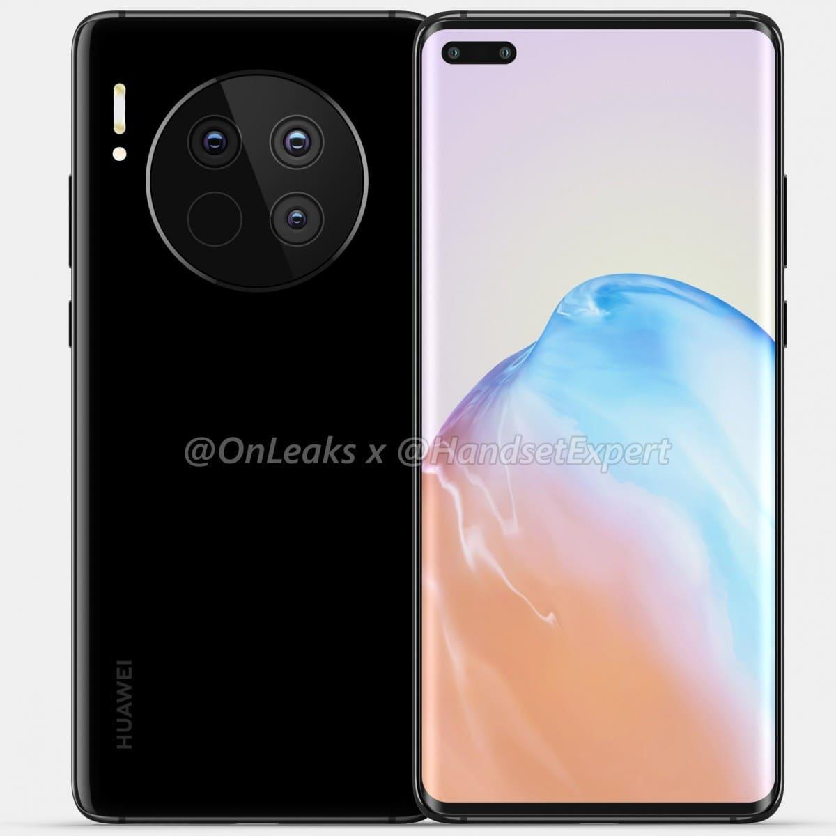 Huawei-Mate-40-Pro-renders-filtrados-negro