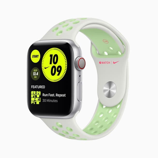 watch-series-6-aluminum-silver-case-nike-watch-white-green-band