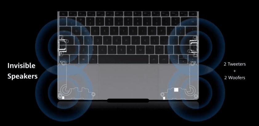 Huawei-MateBook-x-2020-altavoces