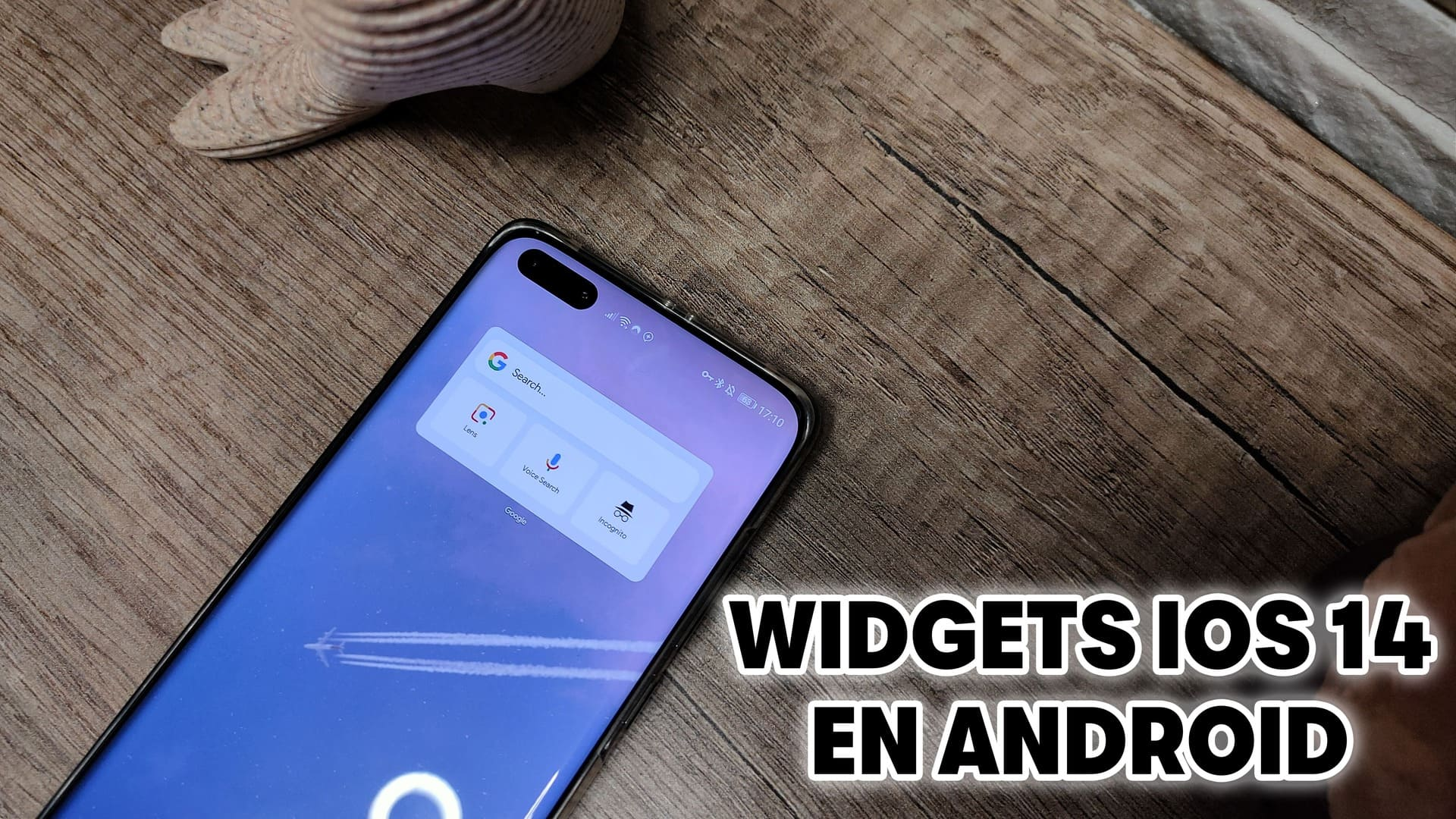 como instalar widgets ios 14 en android