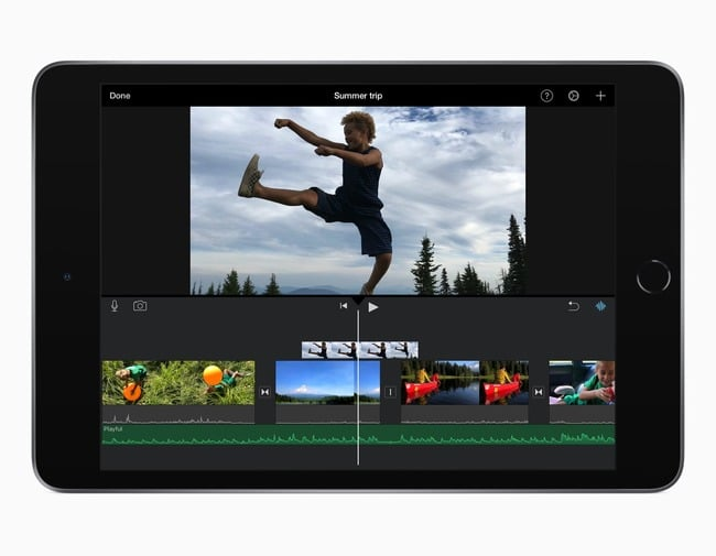 ipad-mini-5-editando-video-imovie