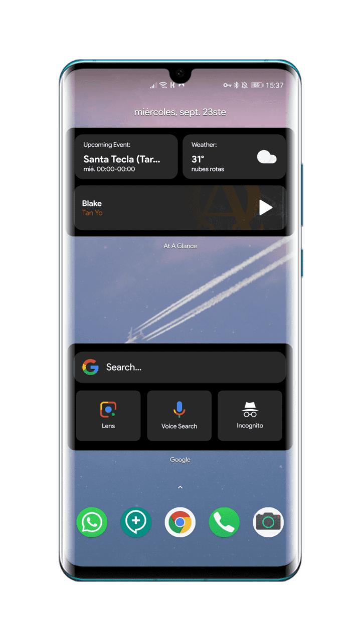widgets-Google-iOS-14-en-Android