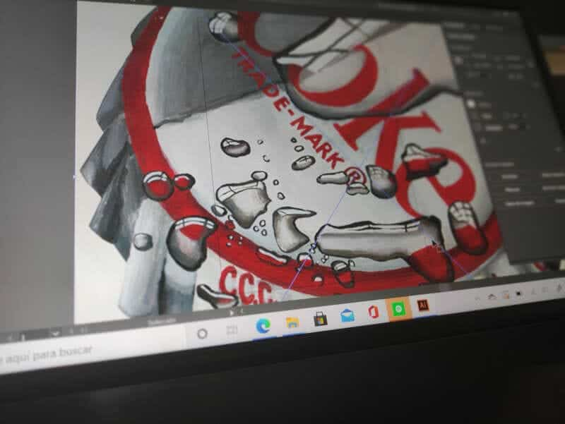 asus-zenbook-duo-diseñando-adobe-illustrator-perspectiva