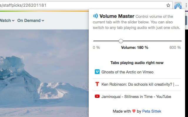 extension-Chrome-Volume-Master
