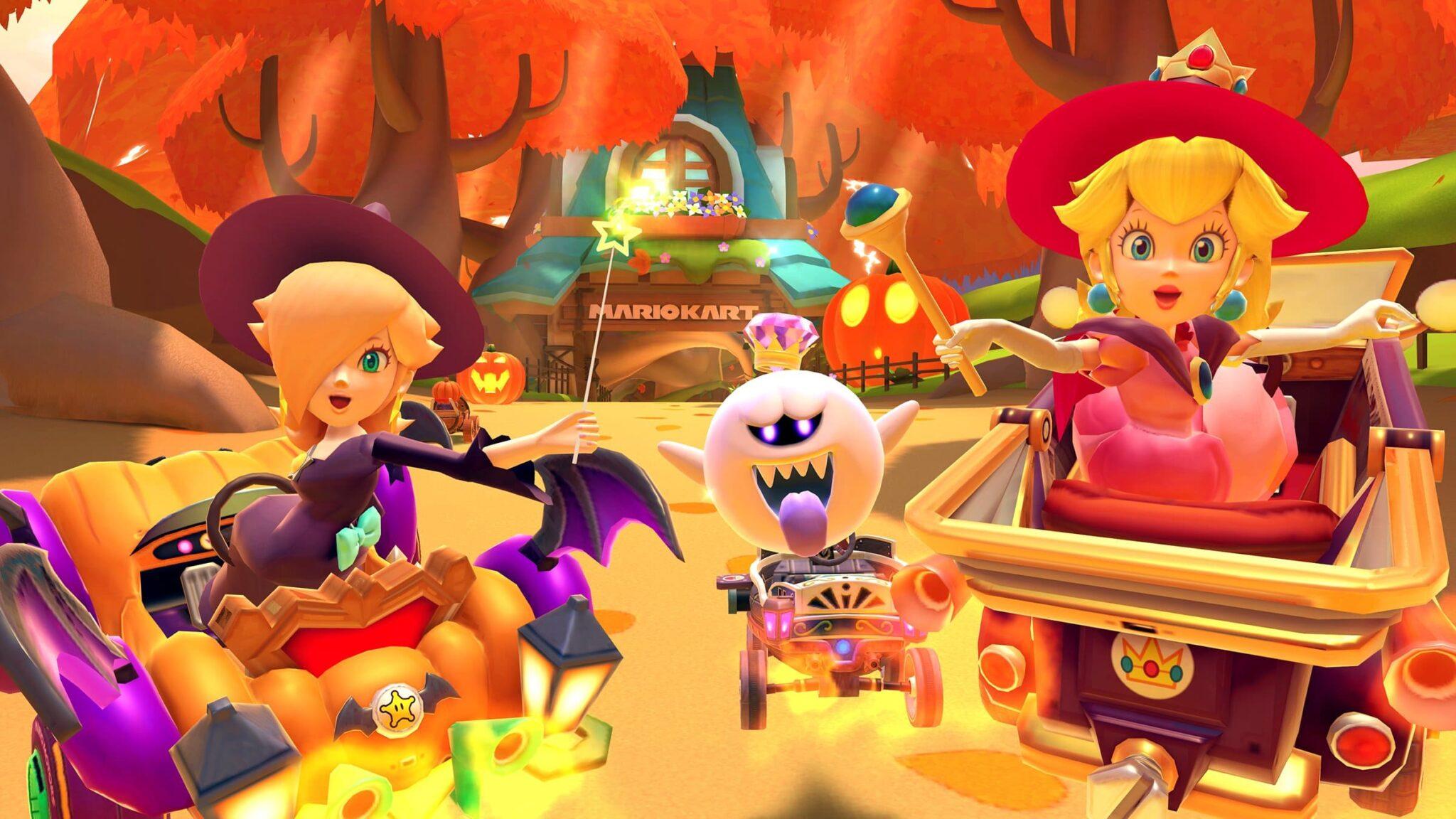 Halloween Mario Kart Tour