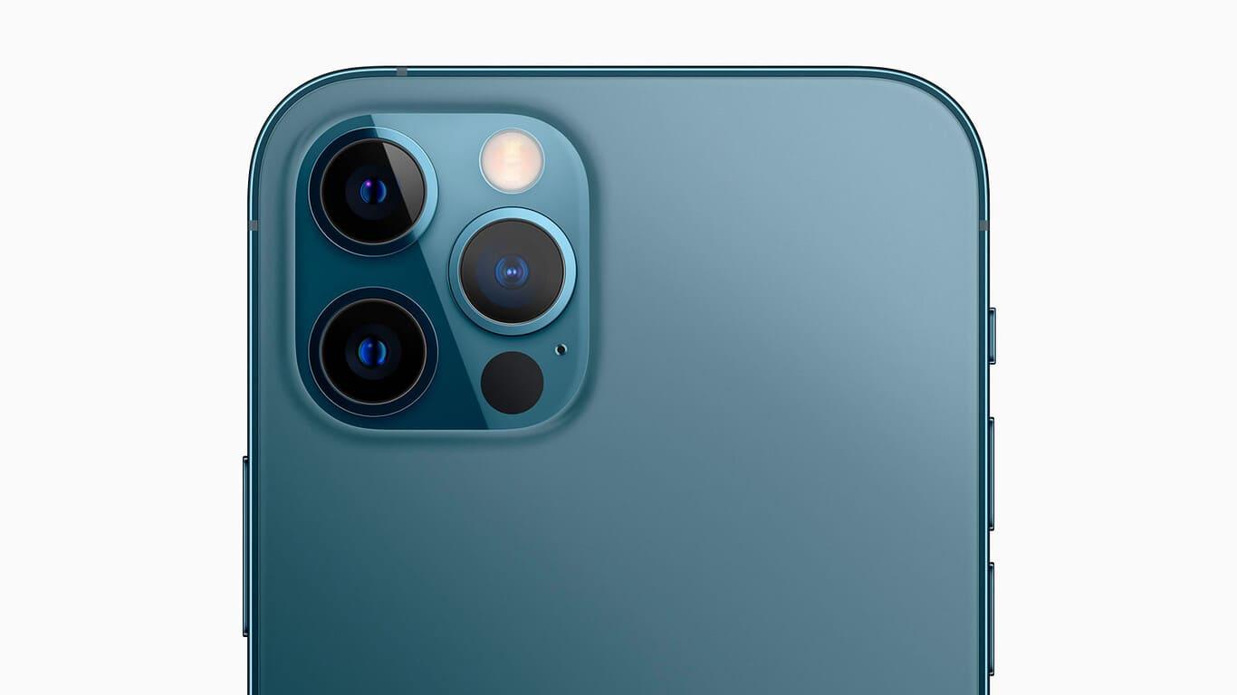 sensores camara trasera iPhone 12