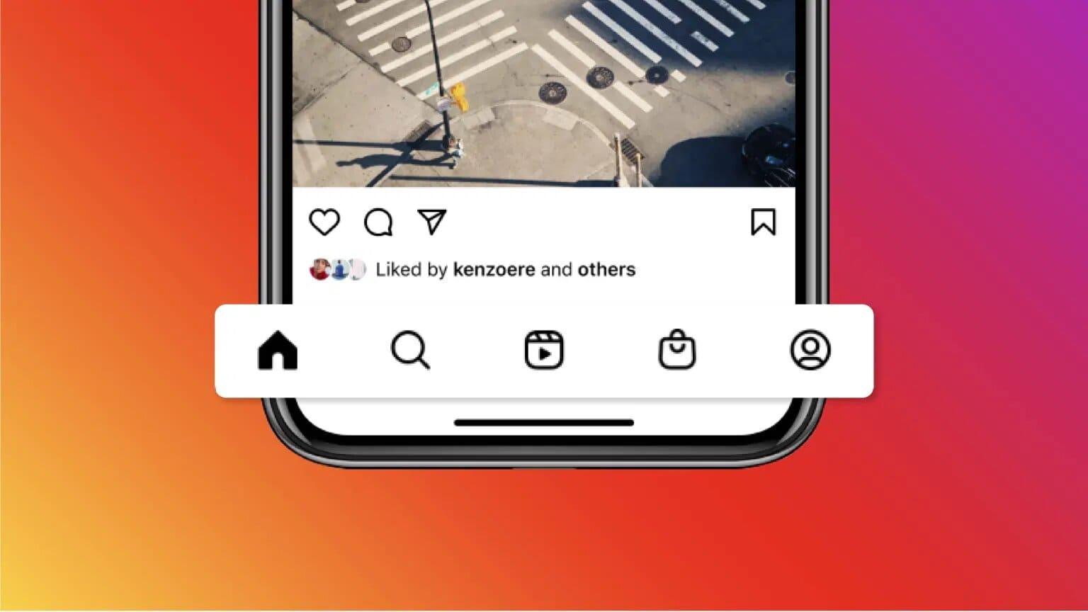 Instagram-nueva-barra-navegacion-Reels-y-Tienda